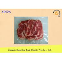 China Frozen Food Vacuum Bags with 3 Side Sealed High Barrier Waterproof wholesale