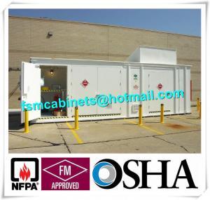 China Chemical Storage Buildings , Hazardous Material Storage Building For Corrosive Liquid wholesale