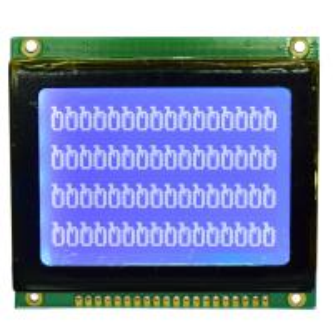 China 128*64 STN Graphic LCD Display Module , Dot Matrix Type Serial LCD Module wholesale