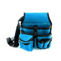 China Durable Waterproof Electrician Tool Bags Blue Garden Tool Carrier OEM ODM wholesale
