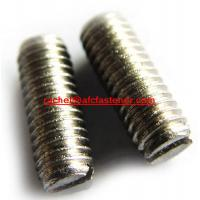 Quality Inconel718  slotted dog point screw  Alloy718 UNS N07718 2.4668 for sale
