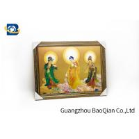 China Religion Picture Lenticular Image Printing , 3D Printing Service High Definition on sale