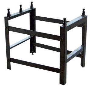 China Medium size Granite Surface Plate Stand Including 5 leveling jacks wholesale