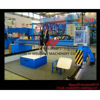 China Single Side CNC Flame Cutting Machine With Cutting Torches , Siemens / Schneider Electrical Parts wholesale