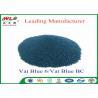China Professional C I Vat Blue 6 Blue BC Blue Vat Dye 100% Purity ISO Approve wholesale