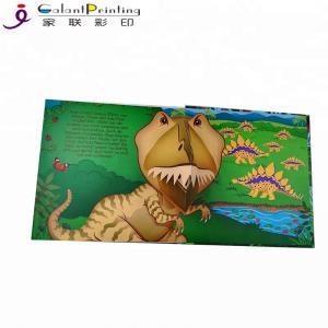 China Custom Dinosaur Animal  Children'S Pop Up Story Books For 1 Year Olds wholesale