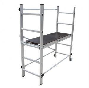 China Aluminum Alloy Multifunction Scaffolding Mobile Climbing Platform Lifting Stretching wholesale