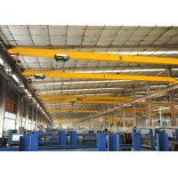 China A3 A4 A5 Working Class Electric Single Girder Overhead Crane 20 ton with Wireless Radio Remote Control wholesale