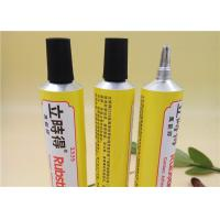Buy cheap Six Color Soft Aluminum Adhesive Tubes Packaging With Extended Plastic Nozzle from wholesalers