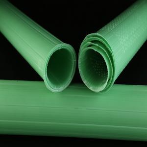 China Waterproof Plastic Plant Protectors , Green Spiral Rabbit Guards wholesale