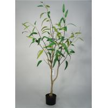 China 5 Feet Artificial Decorative Trees Eucalypt Bonsai Easy Care With Pot Base wholesale