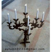 China CH (36) round Acrylic candle holder wholesale