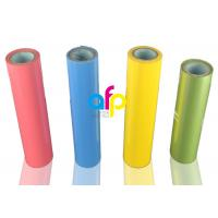 China Gloss Hot Stamping Foil For Fabric / Clothes PET Material 1 Inch Paper Core wholesale