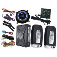 China Passcode Car Security Protection PKE Alarm System , Remote Vehicle Starter System Bypass Output wholesale