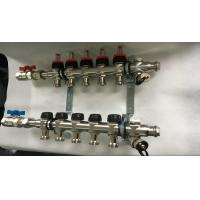 China Double Hand Wheels Underfloor Heating Manifold With Stainless Steel 201 wholesale