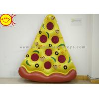 Buy cheap Desirable Beautiful Inflatable Water Floats Pizza Dark Color Inflatable Pool Toys product