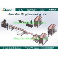 China New Flavored Dental treats production line Auto Meat Strips Dog Treats Processing Line wholesale
