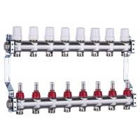 China Excellent quality 304 Stainless steel Art 800 N bamboo shape tube radiant heating manifolds group on sale