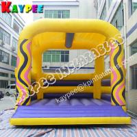 Buy cheap Inflatable wave printed Bouncer, inflatable jumper, Bouncy Castle KBO148 product