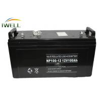 China High Temperature 12 V 100Ah Gel Battery PVS / Wheel Chair Batteries NP 100-12 on sale