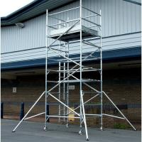 Buy cheap 14m 15m 16m High quality Building Mobile Aluminium Scaffold Ladder in Tower from wholesalers