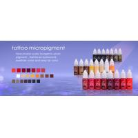 China Cosmetic Tattoo Permanent Makeup Micro Pigment Color - England KIAY wholesale