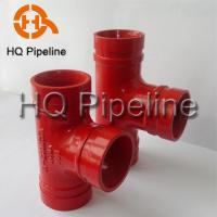 China UL/FM Grooved fittings and couplings wholesale
