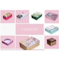China Rectangular Cosmetics Makeup Custom Tin Box Window Medicine Container Durable wholesale