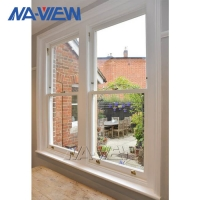 China Naview Latest Design Large Energy Saving Types Of Double Hung Windows Custom Low Price wholesale