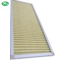 China Non Woven Primary Air Filter , Standard Pleated Air Filters Size Customized on sale