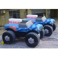 China FireRetardant Inflatable Model Giant Inflatable Truck With Advertising Slogan wholesale