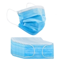 China Non Woven Fabric Three Layer Adult Disposable Ear Hanging Masks wholesale