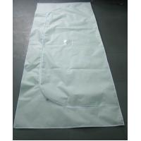 China Non Woven Material Cadaver Bags Envelope Style Zipper Handles Available wholesale