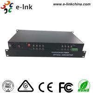 China 16CH AHD CVI TVI Over Fiber Converter , HD - AHD / HD - CVI / HD -TVI Optical Transceiver wholesale