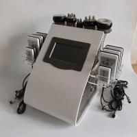 China 8.4 LCD Touch Screen Laser Lipo Cavitation Machine Frequency 5MHz 100KPA Pressure wholesale