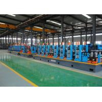Buy cheap Galvanized Erw Pipe Mill And Tube Making Machine With High - Precision from wholesalers