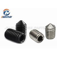 Quality Carbon Steel / Stainless Steel Machine Screws Singlem Thread DIN914 M3 - M8 for sale
