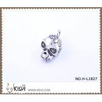 China Hot sell 316 Stainless Steel Death's-Head Pendant H-L1827 wholesale