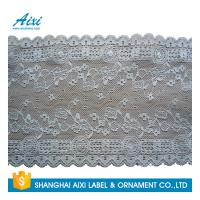 China Gray Women Lingerie Lace Fabric Nylon Stretch Lace African Garment Lace For Dress wholesale