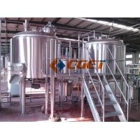 380V Three  Phase Large Scale Brewing Equipment Brewery Fermentation Tanks