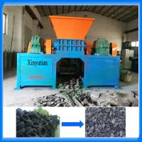 Used car tire shredder recycling machine factory