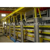 China Discontinious PU Sandwch Panel Production Line , Sandwich Panel Roll Forming Machine wholesale