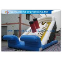 China Popular Titanic Commercial Inflatable Water Slides Double Sided Outdoor wholesale
