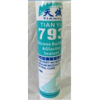 China Plastic Sealing Weatherproof  Silicone Sealant Acetic  Single - Compoment wholesale