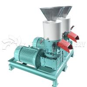 China Industrial Wood Pellet Machine Feed Pellet Making Machine One Year Warranty on sale