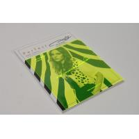 China Clothing company side sewn softcover brochure with PVC dust jacket printing or binding wholesale
