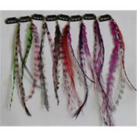 China Clip in Real Feather Hair Extension on sale