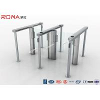 China Pedestrain Control Fingerprint Automatic Swing Gates Turnstile Flexible Extendibility wholesale
