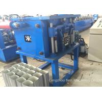 China Professional Downpipe Roll Forming Machine Hydraulic Cutting Type 0.25-0.8mm Thickness wholesale