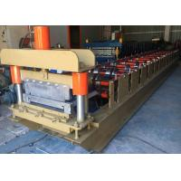 China 460 Standing Seam Roll Forming Machine , Profile Roofing Sheet Making Machine India Design on sale